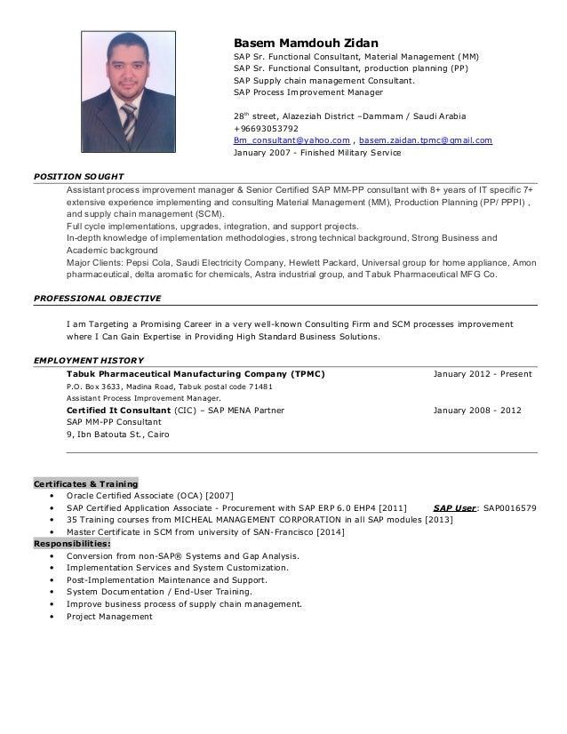 Basem zidan resume