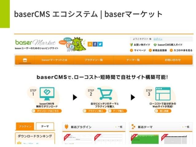 baserCMS エコシステム | baserマーケット