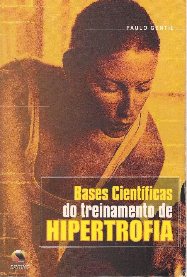Bases cientifica do treinamento de hipertrofia
