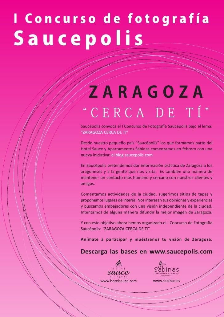 Bases Concurso Fotografia Zaragoza Cerca de ti