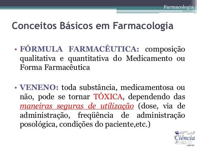 Bases da farmacologia Slide 3