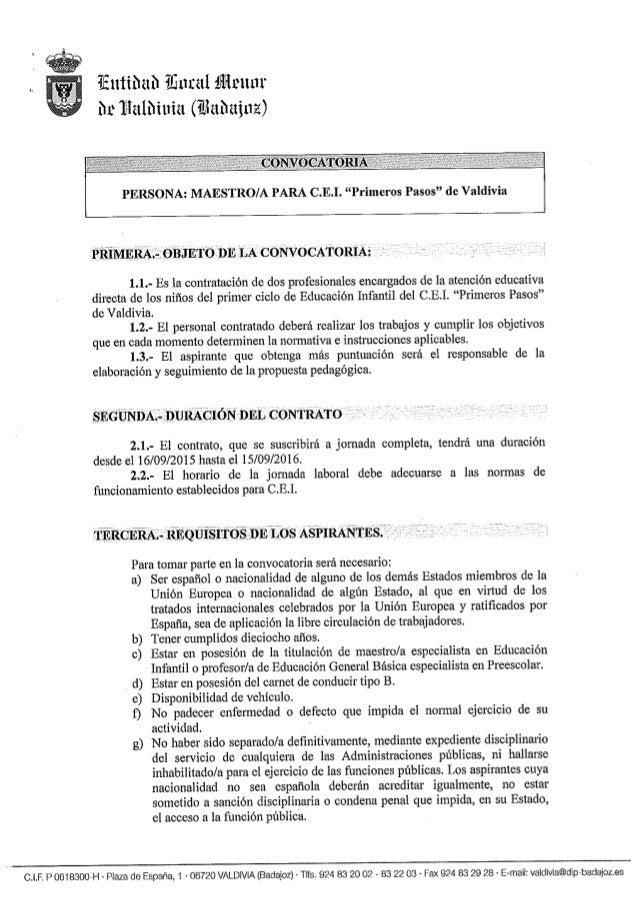 """¡Eittíhath iünral ilümtui' n» Írlêllñíttíêt (itlzthttirxz)          PERSONA:  MAESTRO/ A PARA C. E.I.  """"Primeros Pasos"""" de..."""