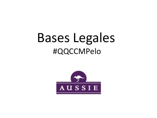 Bases Legales #QQCCMPelo