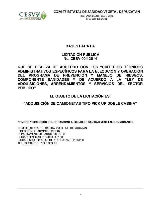 Modelo De Carta De Solicitud De Licitacion Bases