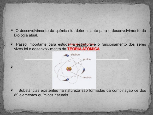 BASESMOLECULARESDAVIDA ODesenvolvimentodabioquímica  O desenvolvimento da química foi determinante para o desenvolvimento...