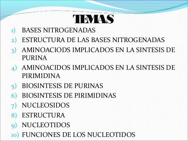 Bases nitrogenada, conceptos generales de biologia molecular Slide 3