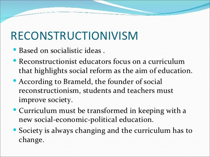 an analysis of the topic of the modern society and the school reform Chapter one: the sociological perspective encompasses social analysis and social reform the evolution of society and that attempts at social reform.