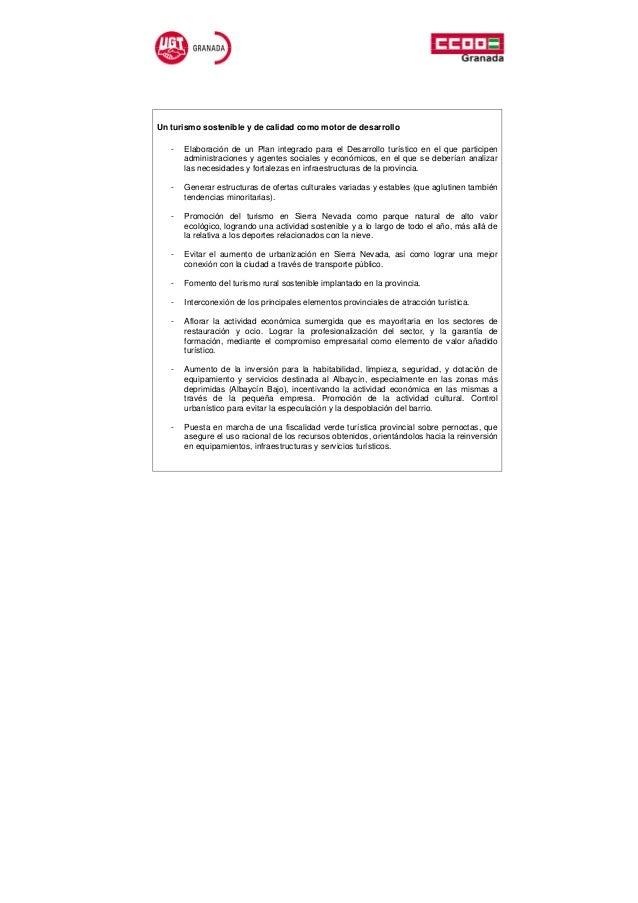 Un turismo sostenible y de calidad como motor de desarrollo   -   Elaboración de un Plan integrado para el Desarrollo turí...