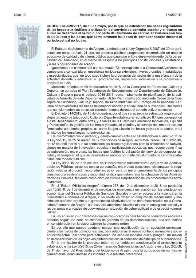 Bases reguladoras becas comedor de verano 2016 2017 - Becas comedor 2017 ...