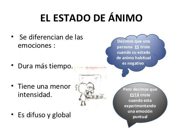 Ejemplos De Emociones Y Estados De Animo Compartir Ejemplos
