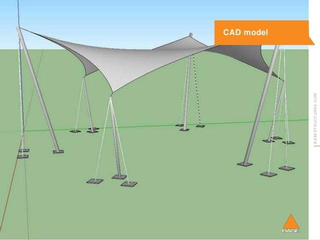 COM CAD model ...  sc 1 st  SlideShare & Base Structures Tensile Fabric Webinar 1: Getting started - inspiratiu2026