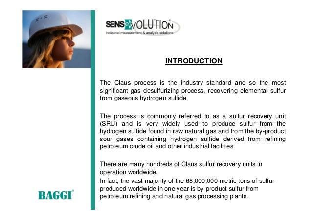 tail gas H2S/SO2 analyzer  Slide 3