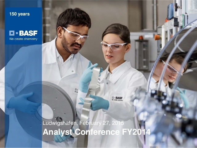 BASF analyst conference full year 2014 charts
