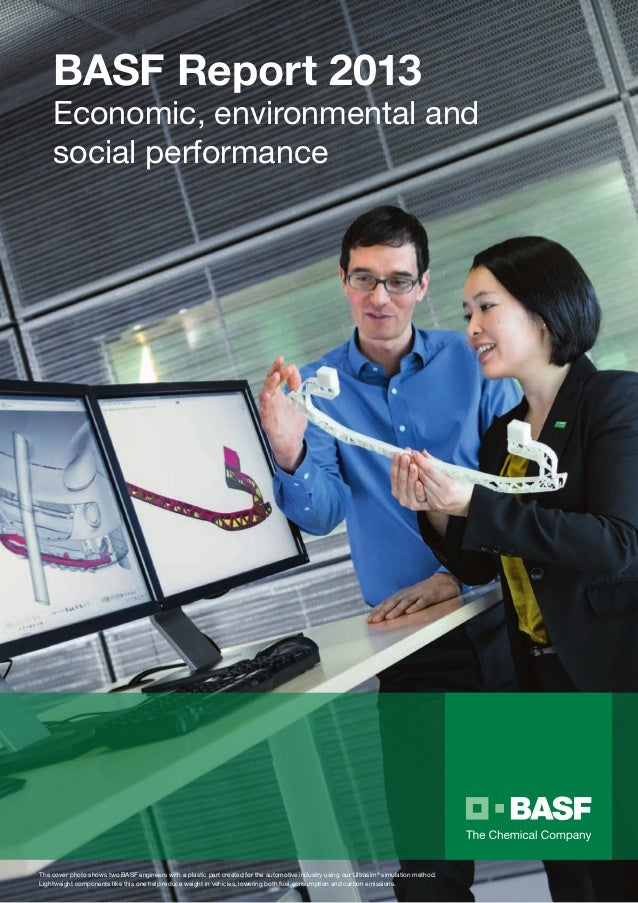 BASF 2013 Sustainability Report