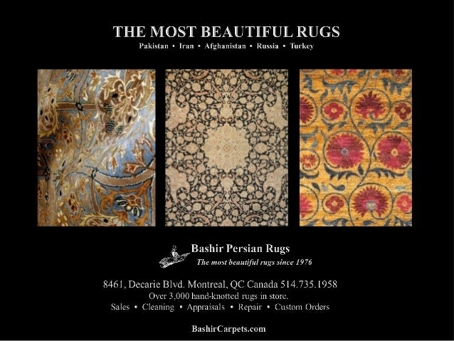 Over 40 Years Experience • Rug & Carpet Sales • Cleaning & Restoration • Professional Appraisals • All Types of Repairs • ...