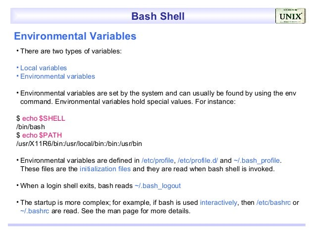 bash assign source to make sure you shifting demand not likely found