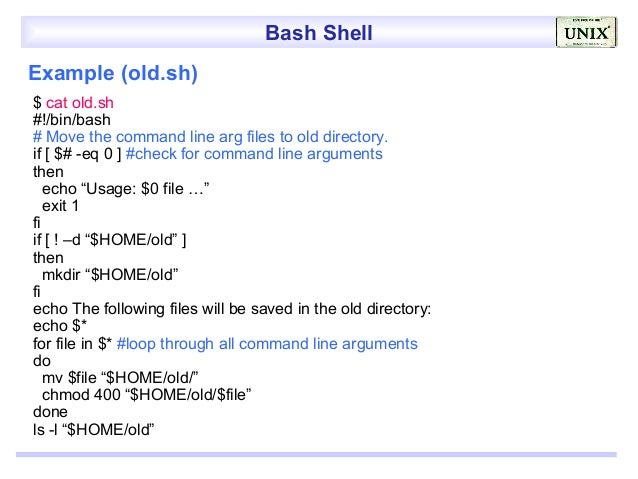 how to send a paramater to a shell script bash