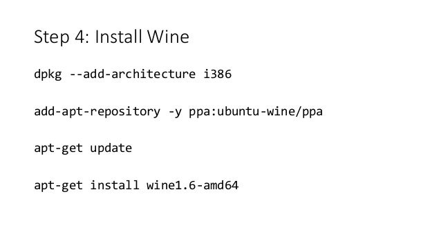 Step 5: Run PE binary using wine wine64 nc64.exe -lvp 1337 -e cmd