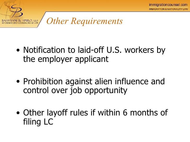 perm process certification labor llp spiro bashyam