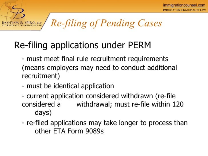 labor certification application processing time - 28 images - green ...