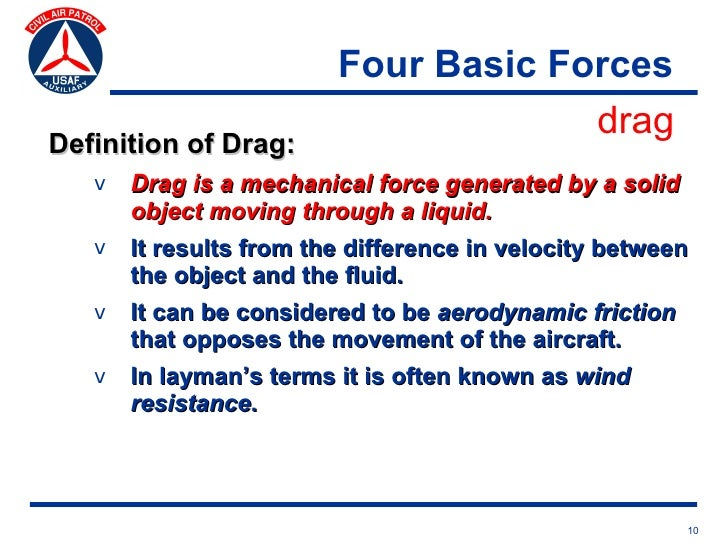 Basic Aerodynamics And Flight Controls