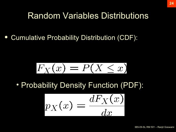 Basic Concept Of Probability