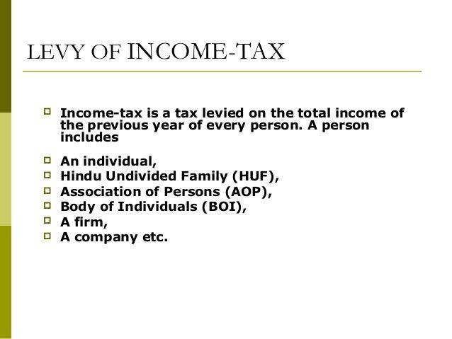 basic income tax knowledge