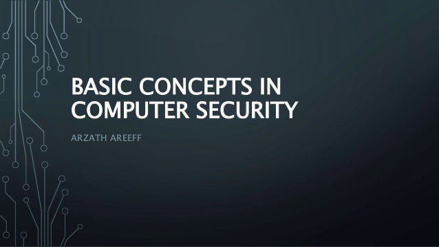 General computer security