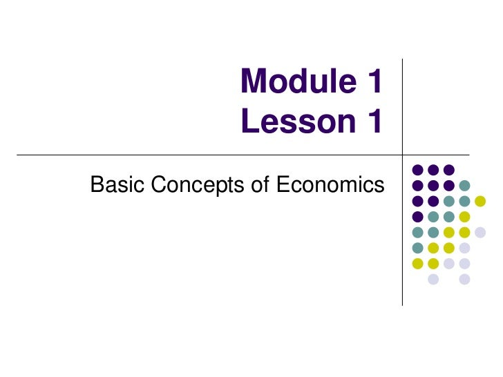 microeconomics basic concepts As you're preparing for the mtel business examination, use these lessons to increase your knowledge of microeconomics this chapter highlights the.