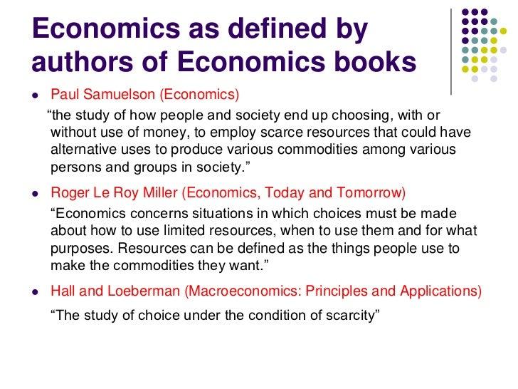 Amazing Economics ...