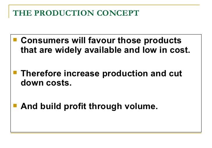 Elements of Basic Marketing Concepts