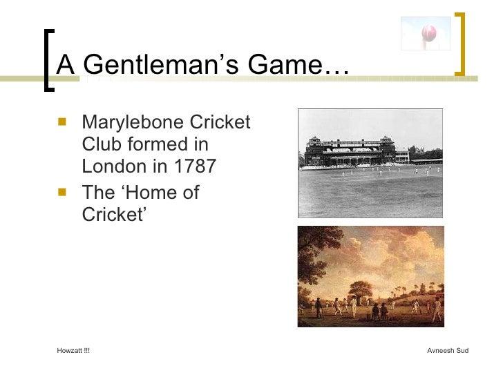 Basic Cricket Rules