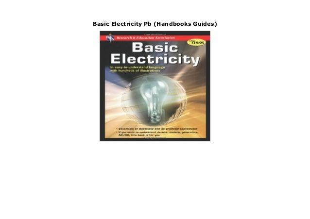 Handbook of Basic Electricity