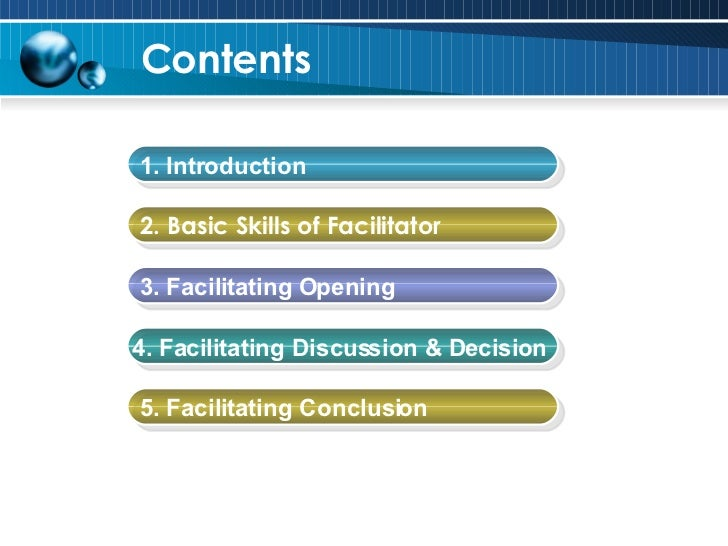 Basic Facilitation Skills Slide 2