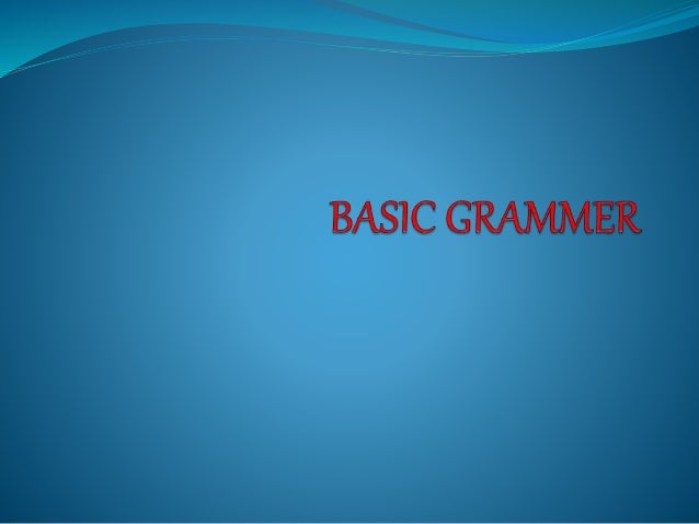 GRAMMER IS A VERY IMPORTANT FOUNDATION OF THE LANGUAGE . YOU SHOULD BE GRAMMETICALLY CORRECT WHEN YOU SPEAK OR WRITE ANY L...