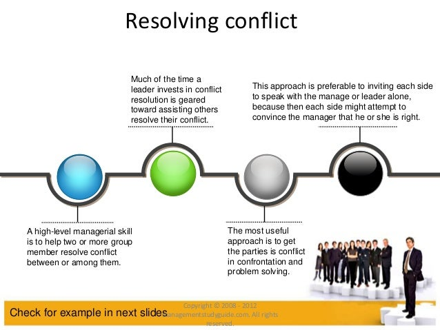 identify skills and approaches needed for resolving conflicts Resolving conflicts on the team related book managing teams for dummies by marty brounstein conflicts among team members will occur from time to time, and team members may struggle to positively resolve conflicts that arise finding out with your team members how best to deal with conflict situations begins when you.