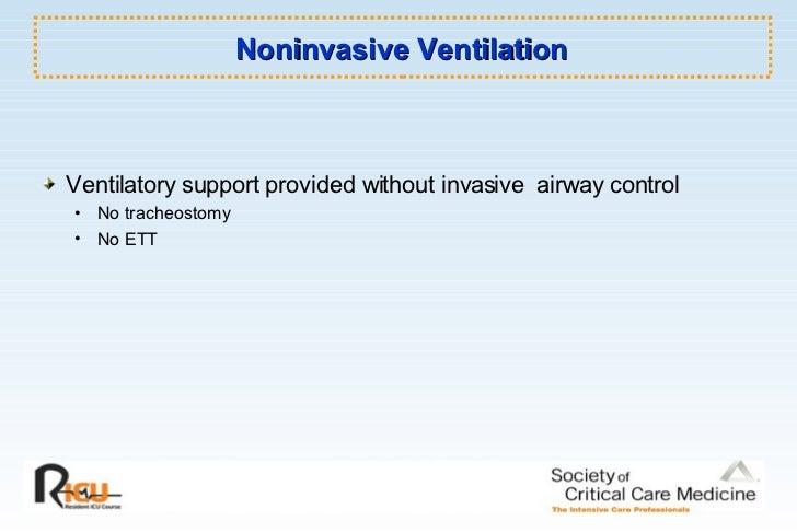 Basic Mechanical Ventilation