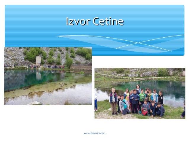 Izvor CetineIzvor Cetine www.zbornica.com