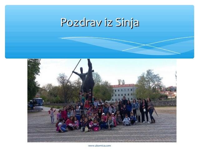 Pozdrav iz SinjaPozdrav iz Sinja www.zbornica.com