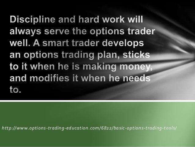 Basic of options trading