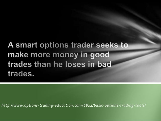 Basic of options trading