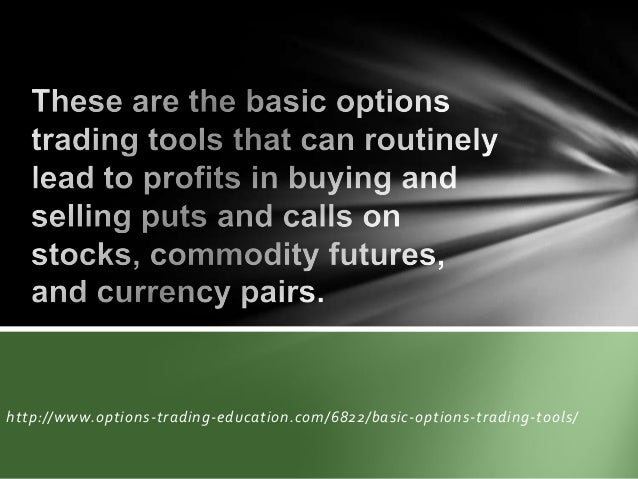 Learning basic options trading