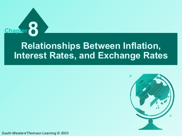 the reltaionship between devaluation and inflation Between interest and inflation rates the ife theory suggests that currency of any country with a relatively higher interest rate will depreciate because high nominal.
