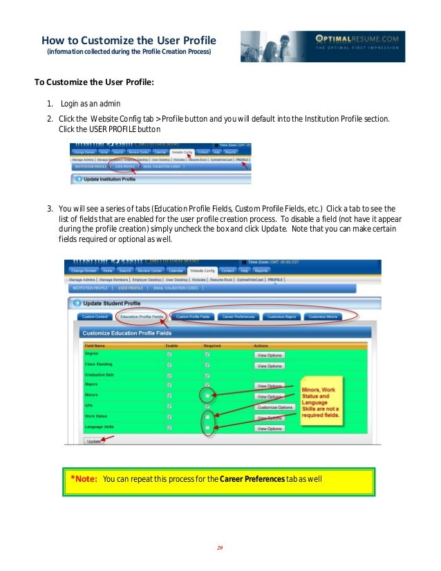 Optimal Resume Login 2 5 22