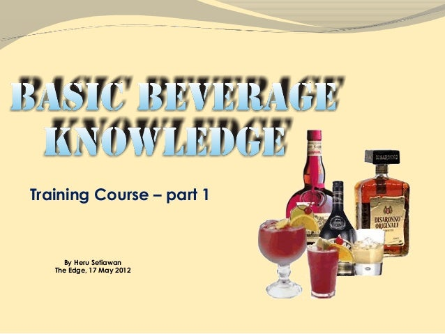 Training Course – part 1      By Heru Setiawan   The Edge, 17 May 2012
