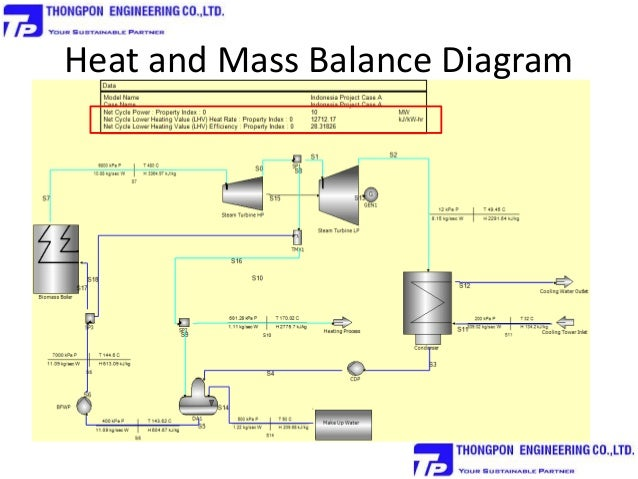 Basic Biomass Power Plant Efficiency