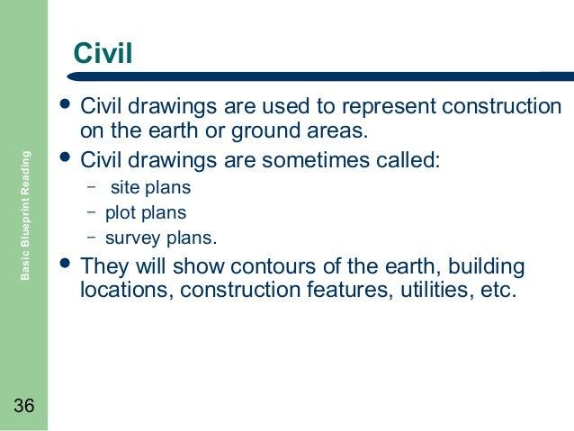 Basic blueprint reading 36 civil basic blueprint reading malvernweather Images