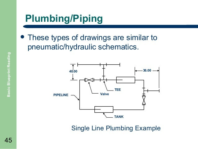 Piping Single Line Diagram Example Electrical Wiring Diagram