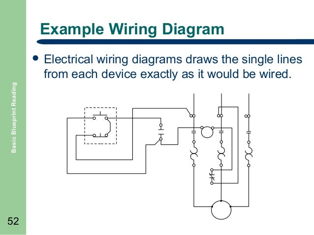 basic blueprint reading, wiring diagram