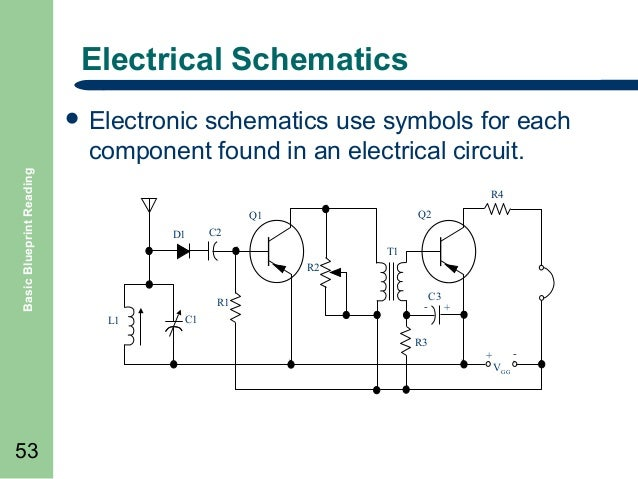 Basic blueprint reading basic blueprint reading electrical 52 53 electrical schematics schematics use symbols malvernweather Image collections